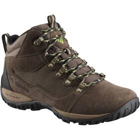 Columbia Peakfreak Venture Mid Suede WP Calzado Hombre, cordovan/spring